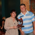 Julia Pitman - Swords Manager of the Year