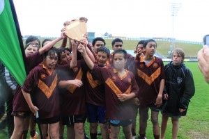 13s Shield Winners - Horahora Broncos (undefeated)