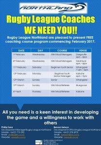 Coaching Course Flyer 2017
