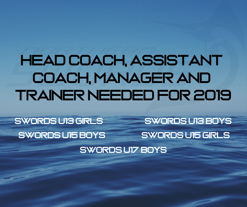 2019 Swords Team Officials Applications - Rugby League Northland